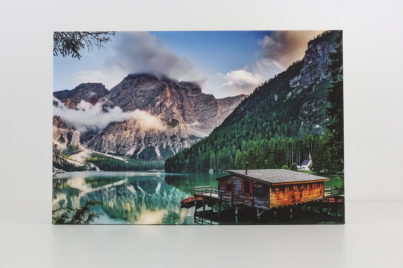 Die CEWE Fotoleinwand bietet ein breites Farbspektrum und eine sehr gute Druckqualität.