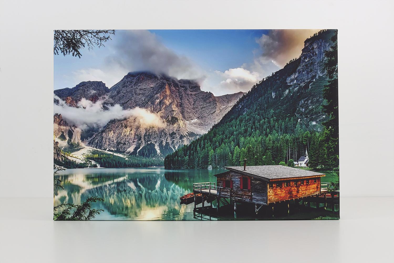 Die Müller Fotoleinwand bietet eine sehr gute Druckqualität und sehr schöne Farben.