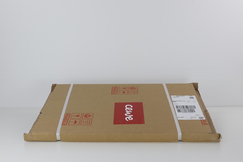 Die Verpackung der Fotoleinwand bietet einen sehr guten Schutz für die enthaltene Leinwand.
