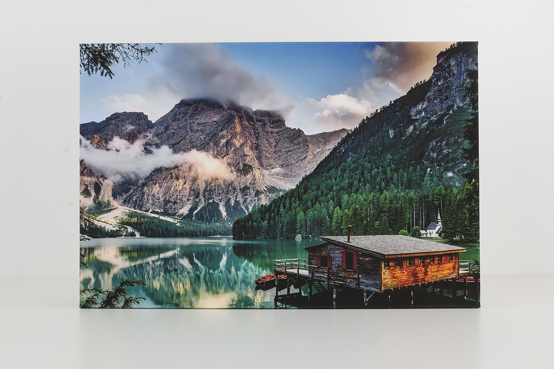Die Pixum Fotoleinwand bietet eine hervorragende Druckqualität und kontrastreiche Farben.