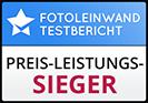 Wandfoto.de belegt Platz2 im Test